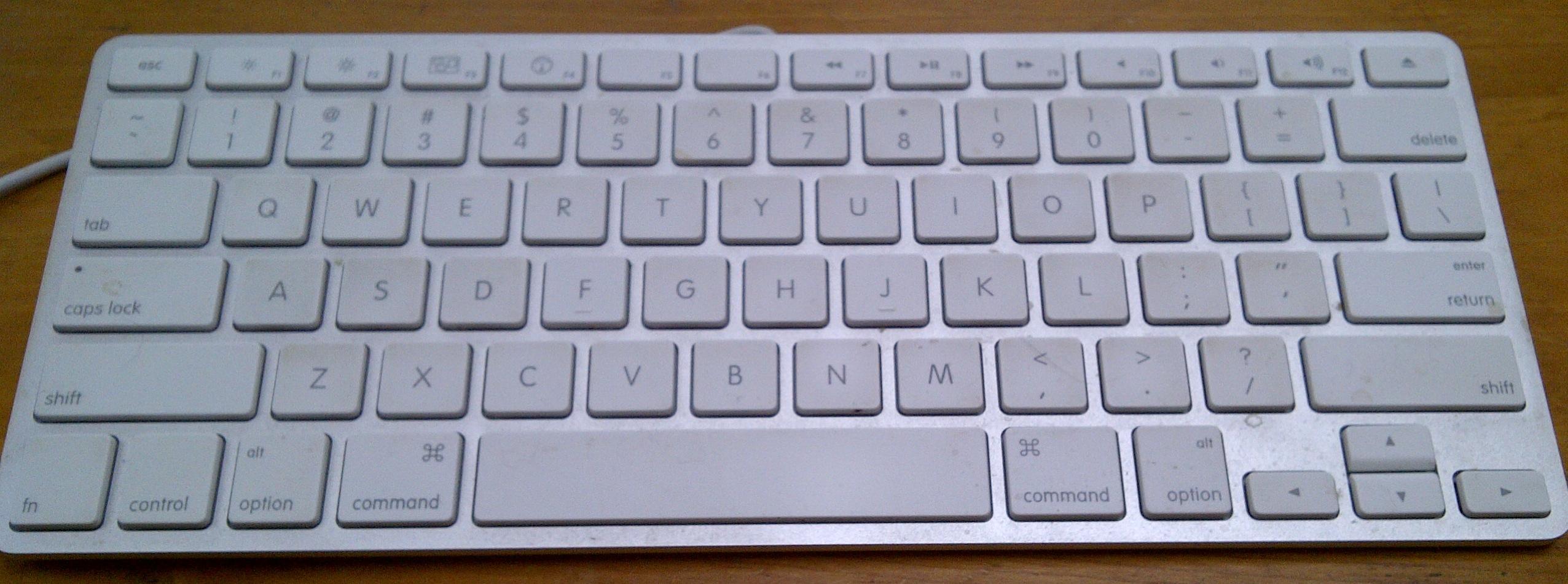 how to take off mac laptop keys