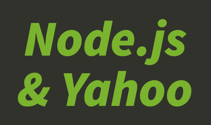NodeJS-and-Yahoo-ReidBurke