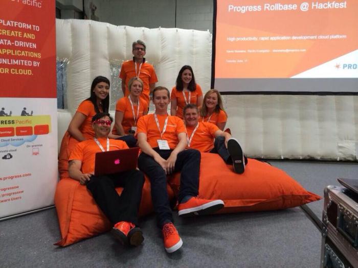 team at hackfest